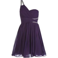 Purple Embellished Cut Out One Shoulder Prom Dress ($21) ❤ liked on Polyvore featuring dresses, vestidos, short dresses, purple, robes, short purple dresses, one shoulder prom dresses, wrap dress, short cocktail prom dresses and sparkly dresses