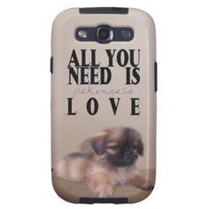 Pekingese Samsung Galaxy S3 Cases