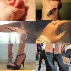 Small tattoos :)