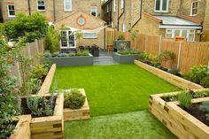 backyard design ideas garden sleepers raised garden beds ideas garden edging - All For Garden