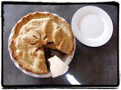 Z ghetta blog: Americký jablečný koláč (Apple pie) Sweet Pie, Apple Pie, Treats, Baking, Breakfast, Cake, Desserts, Food, Sweet Like Candy