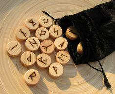 Runenset Orakel - Holz