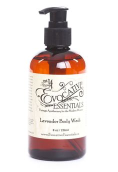 A Hand/Body Wash as Nature Intended! This washis delicately formulated to be the safest product to use on your body. We use only natural glucosides to provide luscious and creamy foam. Luxurious and calming lavender essentials oil is infused to increase your pampering experience. Body Wash, Calming, Soaps, Lavender, Essential Oils, Essentials, Natural, Hand Soaps, Shower Gel