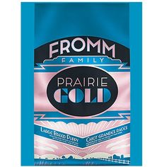 Fromm Family Foods 727071 26 lb Prairie Gold Large Breed Dry Puppy Food Pack), One Size - You can visit the image link more details. (This is an affiliate link and I receive a commission for the sales) Wet Dog Food, Puppy Food, Pet Food, Small Dog Breeds, Small Breed, Grain Free Dog Food, Canned Dog Food, Dog Food Brands, Dog Supplies