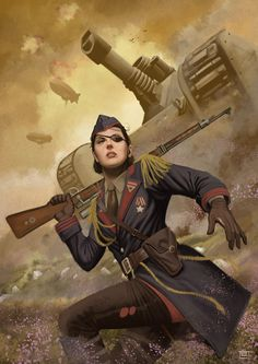 Art by Michal Suchanek  Found at http://www.pinterest.com/jimbosnorf/dieselpunk-airships-and-art-deco/