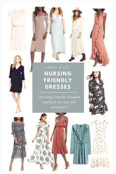 One of the most requested posts as of lately is nursing friendly dresses! A lot of you have weddings or events coming up and needed to find a nursing friendly dress for the occasion! I searched the webs to find the best ones and compiled. Postpartum Fashion, Breastfeeding Fashion, Breastfeeding Clothes, Nursing Clothes, Postpartum Outfits, Nursing Outfits, Looks Style, Mom Style, Maternity Dresses
