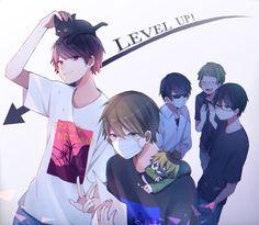 Manga Covers, Cute Chibi, Anime Love, Fan Art, Comics, Boys, Character, Anime Guys, Projects