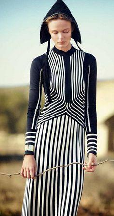 Amish inspired Vogue Japan