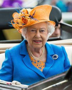 June 16, 2016 -~ Queen Elizabeth II, Royal Ascot Ladies Day