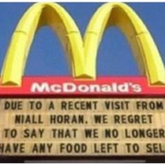 Haha Nialler.  Can a McDonald's seriously do this for me? It would make my life(: