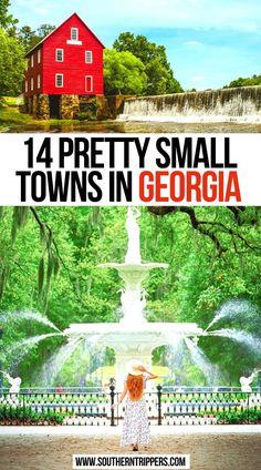 14 Pretty Small Towns in Georgia | Prettiest Georgia Small Towns | Beautiful Towns in Georgia | georgia small towns | georgia usa small towns | small towns to visit in georgia | georgia living small towns | cute small towns in georgia | best small towns in the south | georgia travel | georgia usa small towns | cute towns in georgia | best places to visit in georgia | best georgia towns | georgia travel usa | pretty towns in georgia | #smalltowns #georgia #usa #travel