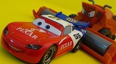 LIGHTNING McQUEEN CUSTOM DISNEY STORE Review by Funtoycollection