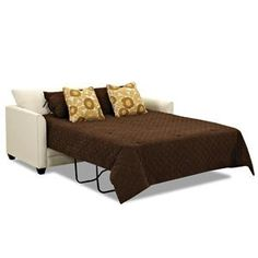 Holiday guests in town? Check out this sleeper sofa on sale for $999!  Tilly Queen Memory Foam Sofa Sleeper by Klaussner