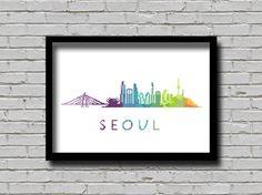 Cross Stitch Pattern Seoul South Korea by ZGCROSSSTITCHPATTERN