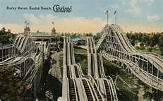 racing coaster Euclid Beach Ohio