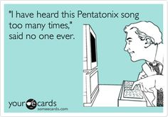 For as much as I post about them on FB, twitter, tumblr, and now here... I'm really surprised people still ask me who Pentatonix is....