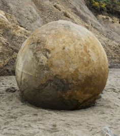 New Zealand - Stone Sphere