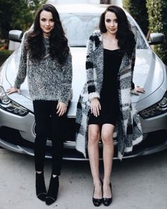 The Merrell twins would be perfect as Clio and Thais! (Just discovered them is Jane The Virgin, haha)