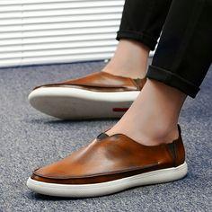 Boys Shoes, Men's Shoes, Dress Shoes, Loafer Sneakers, Loafers Men, Business Shoes, Martin Boots, Hip Hop, Dapper