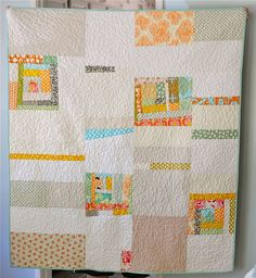 100 Days – Week of Using What You Have – Featured Quilt 3 : 100 days of modern quilting - Adamdwight.com
