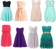 A fashion look from October 2012 featuring red dress, mini dress and sequin dress. Browse and shop related looks. Pretty Prom Dresses, Grad Dresses, Dresses For Teens, Dance Dresses, Pretty Outfits, Beautiful Outfits, Cute Dresses, Dress Outfits, Dress Up