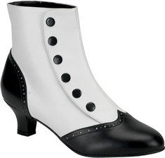 Victorian spat boots for women http://www.vintagedancer.com/victorian/victorian-womens-clothing/