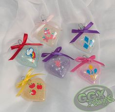 I need these for Kady!!! I need someone crafty to make them! My Little Pony Themed Set of 6 Ornaments by GGXDesigns on Etsy, $18.00