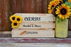 Buy Now at www.reclaimedoregon.etsy.com  wedding card box rustic wedding card holder by ReclaimedOregon