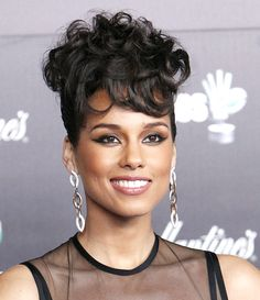Alicia Keys' 1960s Retro Curly Hairstyle: Hot Or Not?Vote