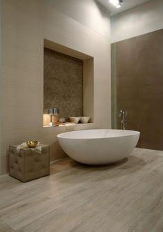 Bildergebnis für freistehende badewanne mit sauna