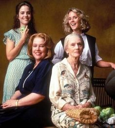 Jessica Tandy, Mary Stuart Masterson, Kathy Bates e Mary-Louise Parker(Fried Green Tomatoes at the Whistle Stop Cafe).