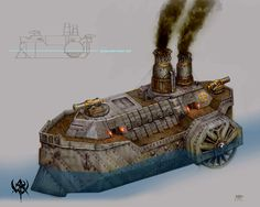 warhammer dwarf ship - Google Search
