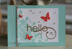 Wednesday, 11 January 2012 Stampin 'n Stuff: Spring Mini - My Friend, Pool Party, Calypso Coral, Soft Suede