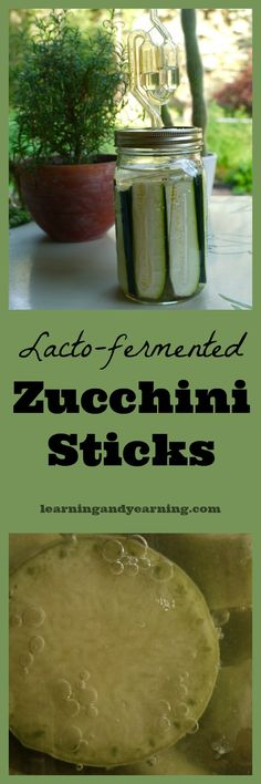 Why ferment zucchini when you can pickle it? Lacto-fermented zucchini sticks are more nutritious, more delicious, and much easier to make. That's why!
