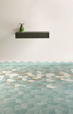 Indoor porcelain stoneware wall/floor tiles TEX BLUE TEX Collection by MUTINA | design Raw Edges