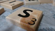 Check out this item in my Etsy shop https://www.etsy.com/listing/473484820/large-custom-scrabble-tiles-personalize