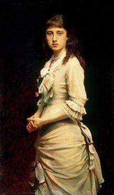 Portrait of Sofia Ivanovna Kramskaya, Ivan Kramskoy - #Art #LoveArt http://wp.me/p6qjkV-kuJ