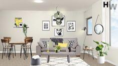 Final Visualisation. Room Design Package: Classic, Room: Open Plan, Style: Scandi, Budget: £5000 Designer: Charlie T