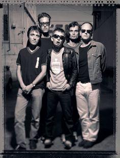 #Radiohead - Frisco, july 13, 1995 - Rolling stone session - By  Jay Blakesberg