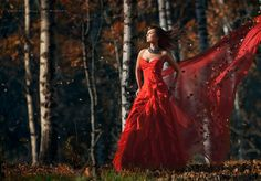 Lady in Red 3 #Photography Brilliant Job