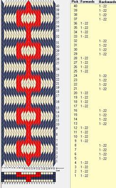 22 tarjetas, 3 colores,alterna 4F-4B // sed_359 diseñado en GTT༺❁