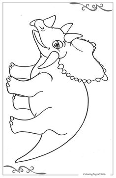 Dinosaurs Download Coloring Page For Your Little Ones