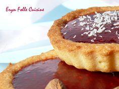 Biscuits-Tartelettes Amandes & Framboises - Eryn et sa folle cuisine Biscuits, Tiramisu, Brownies, Muffins, Ethnic Recipes, Desserts, Food, Almonds, Raspberries