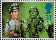 Big Stars from the Small Screen - Children's TV Characters 31p Stamp (1996) Stingray