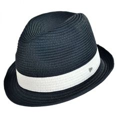 525116affea EK Collection by New Era Harper Toyo Straw Fedora Hat Straw Hats