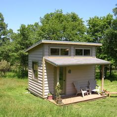 Shed Roof Design with porch