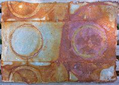 Elizabeth Adams-Marks ~ Rust on handmade abaca