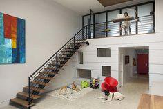 Modern family loft in Massachusetts by ZeroEnergy Design