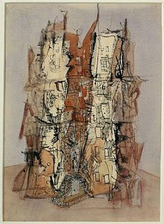 Wols, Untitled (Cathedral), c. 1945