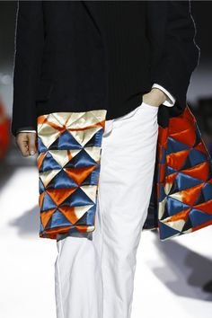 """This collection was the most authentic interpretation of his brand's heritage so far, one that celebrated his signature prints """"without nostalgia and with little artifice,"""" the desi..."""